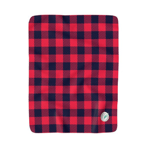 Holiday Plaid Fleece Blanket
