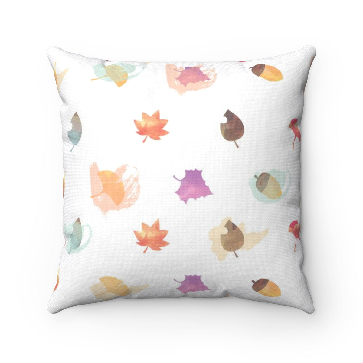 It's Fall Ya'll Spun Polyester Square Pillow Case