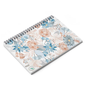 Natural Blooms Spiral Notebook - Ruled Line