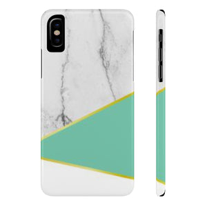Mint & Marble Case Mate Slim Phone Cases