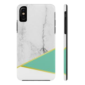 Mint & Marble Case Mate Tough Phone Cases