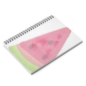 Watermelon Ice Spiral Notebook - Ruled Line