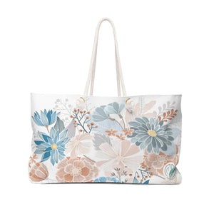 Natural Blooms Weekender Bag