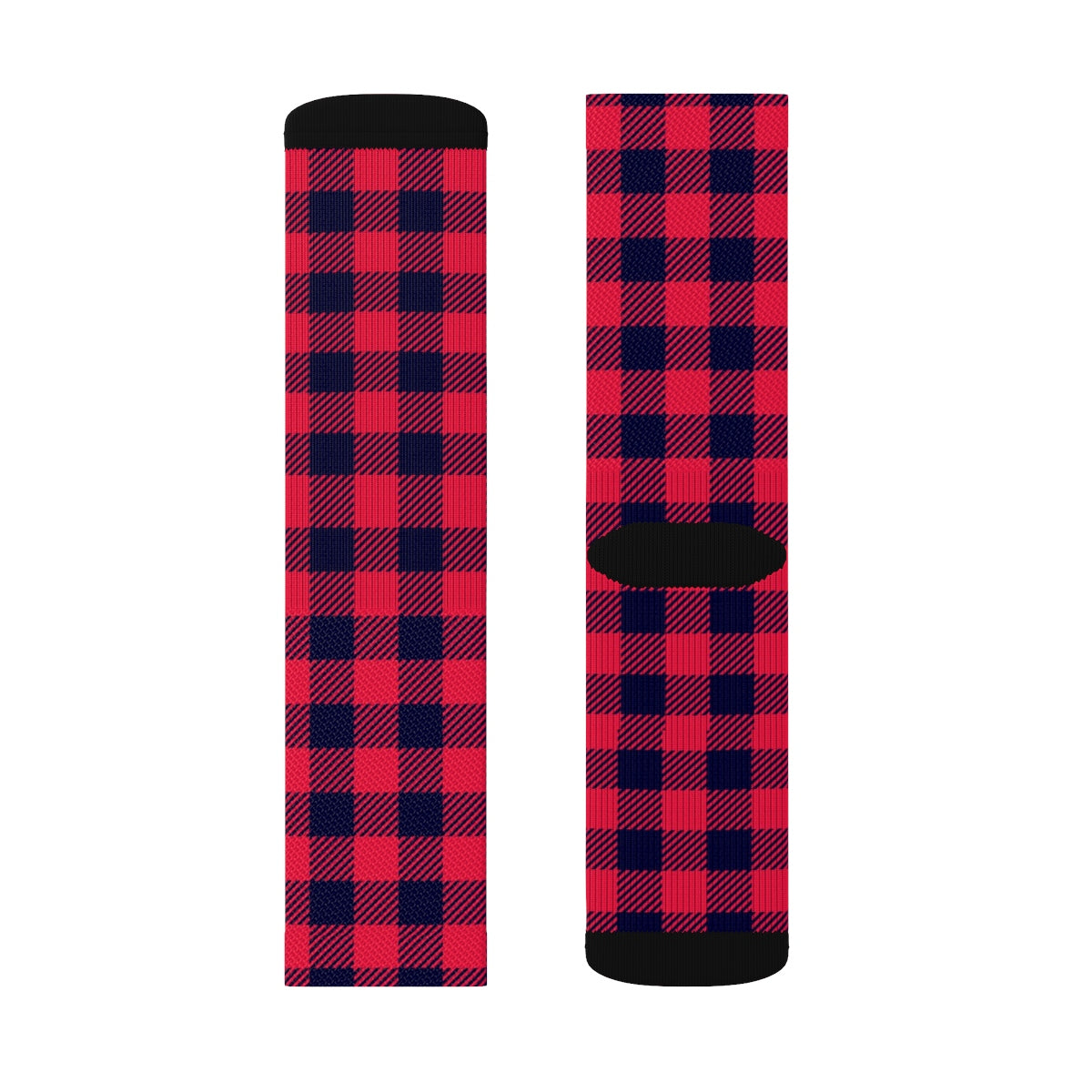 Holiday Plaid Socks