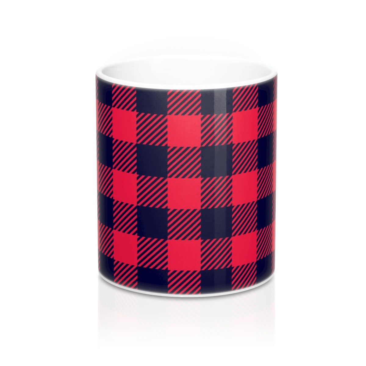 Holiday Plaid Mug 11oz