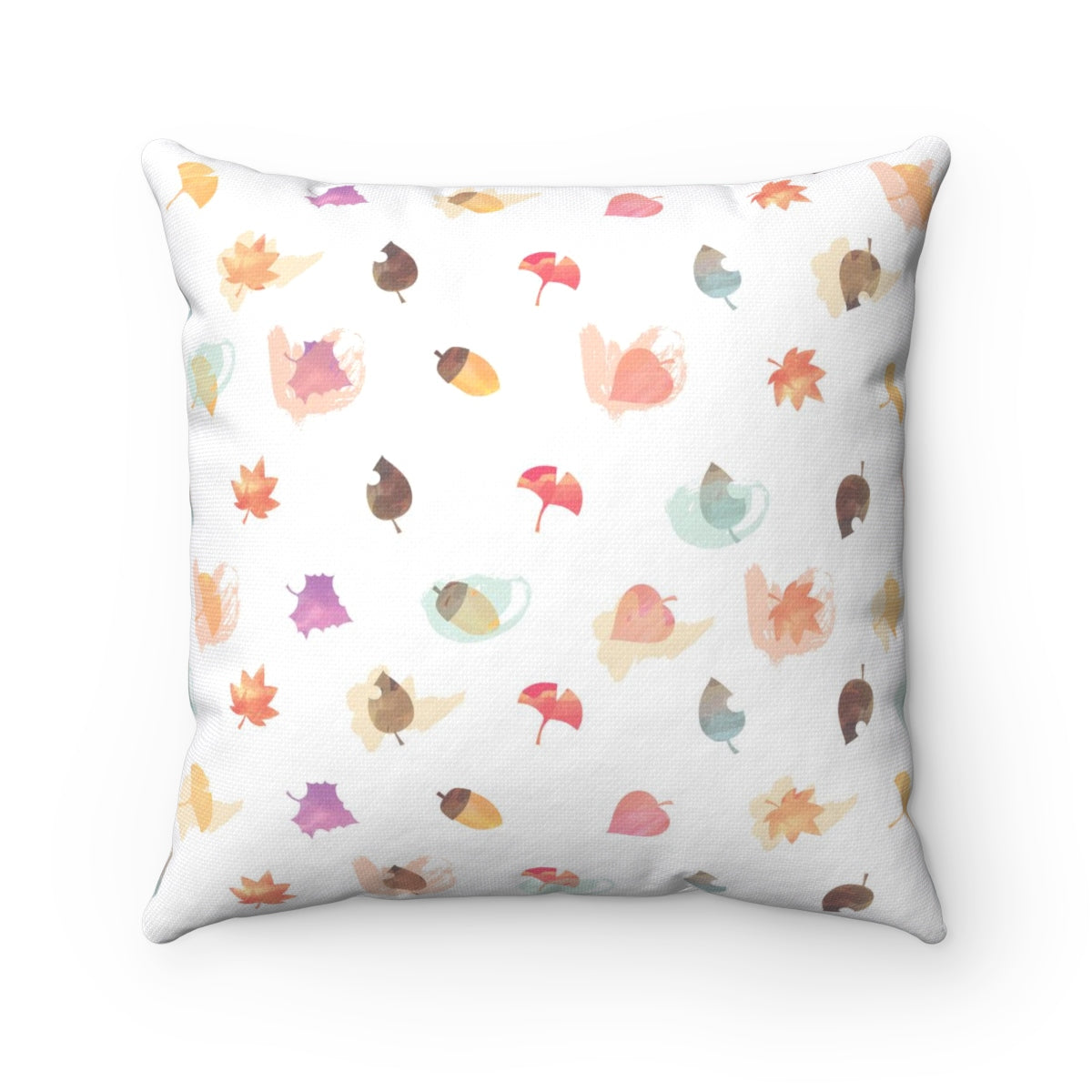 It's Fall Ya'll Yellow Spun Polyester Square Pillow