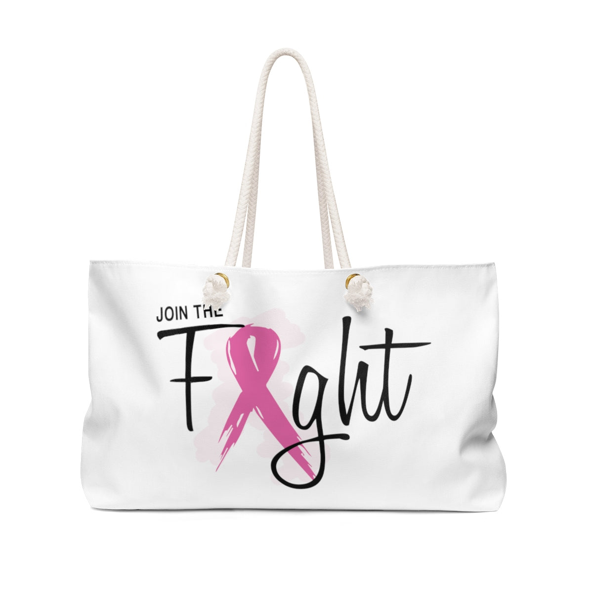 Join The Fight Breast Cancer Weekender Bag