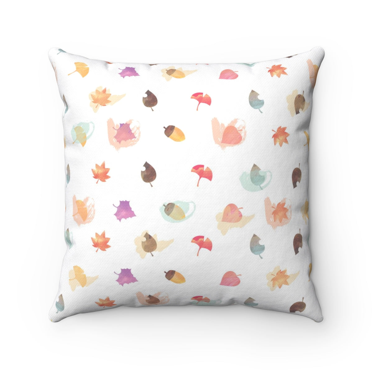 It's Fall Ya'll Brown Spun Polyester Square Pillow Case
