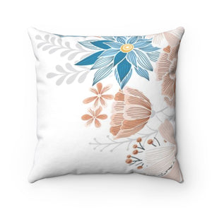Natural Blooms II Square Pillow
