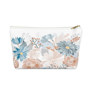 Natural Blooms Accessory Pouch w T-bottom