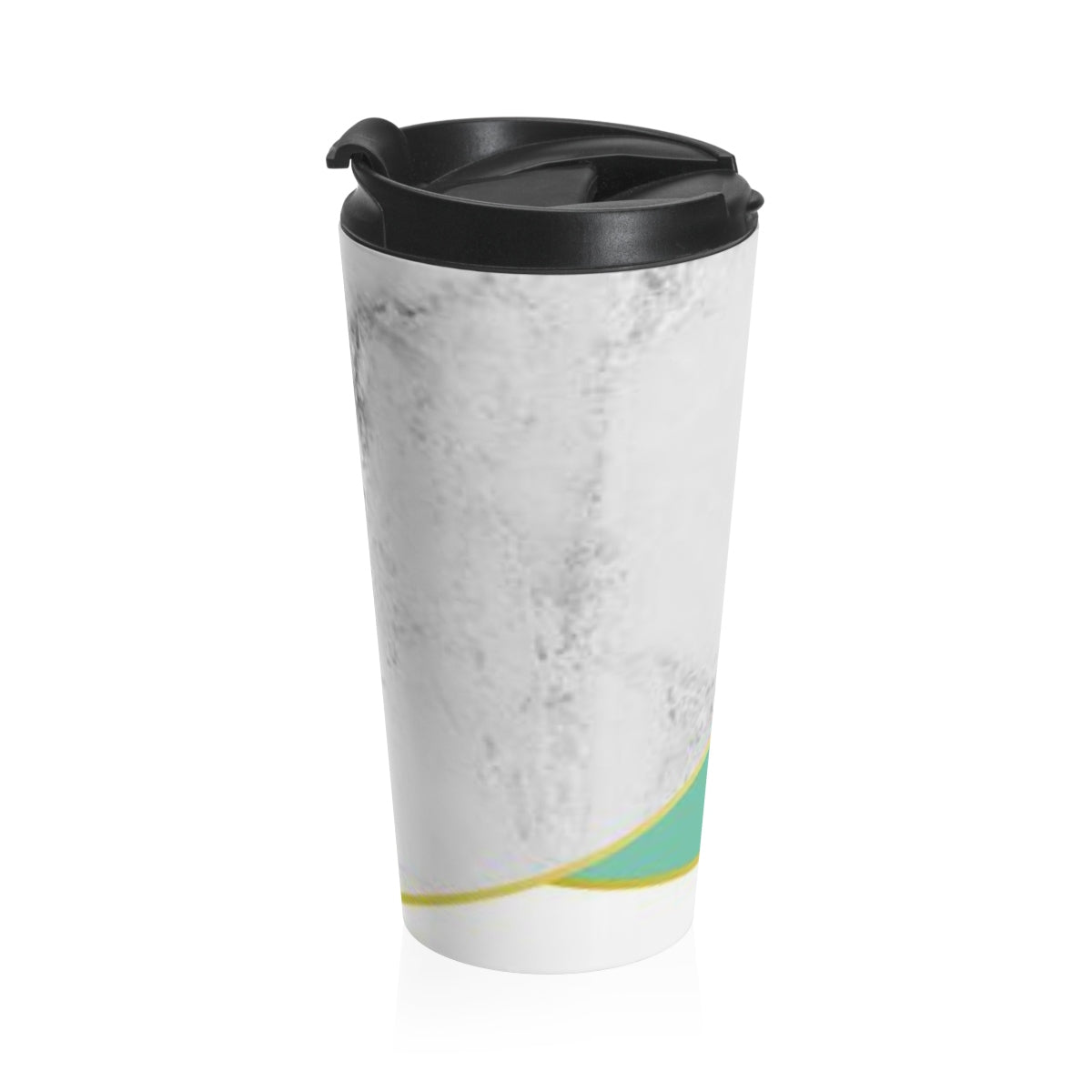 Mint & Marble Stainless Steel Travel Mug