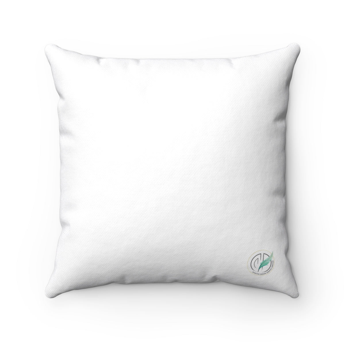 Breast Cancer Ribbon Spun Polyester Square Pillow Case