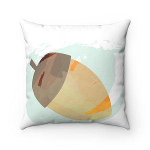 It's Fall Ya'll Mint Spun Polyester Square Pillow