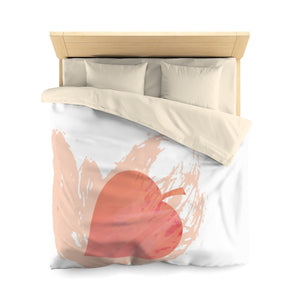 It's Fall Ya'll Orange Microfiber Duvet Cover