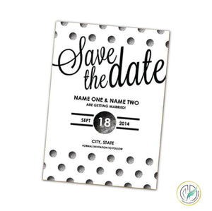 Save The Dates Dfinitive Design Graphic Services