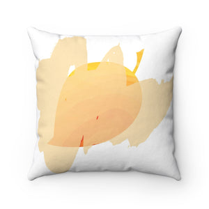 It's Fall Ya'll Yellow Spun Polyester Square Pillow Case