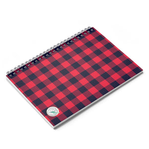 Holiday Plaid Spiral Notebook - Ruled Line