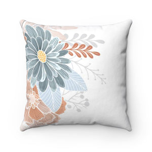 Natural Blooms Square Pillow Case
