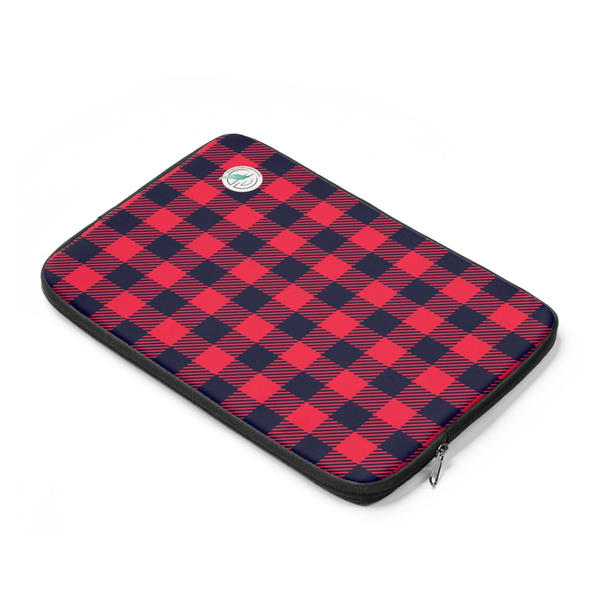 Holiday Plaid Laptop Sleeve
