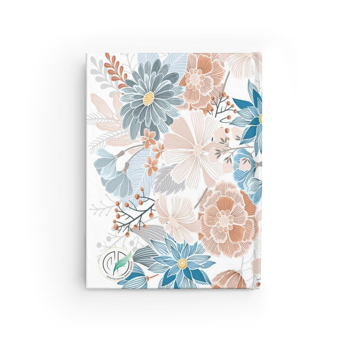 Natural Blooms Journal - Ruled Line