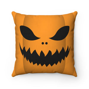 Trick or Treat Jack Spun Polyester Square Pillow Case