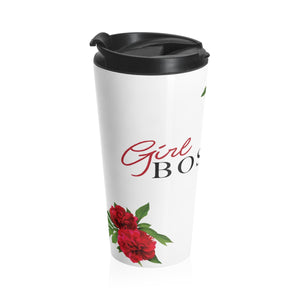 Girl Boss Stainless Steel Travel Mug