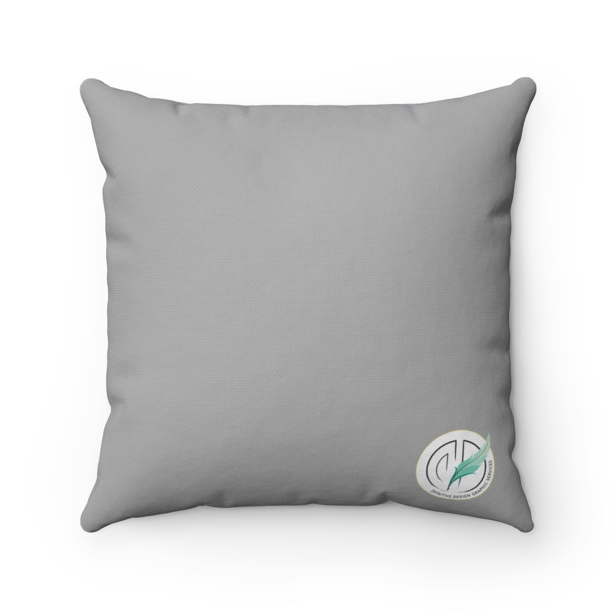 Paw Prints Frenchie Gray Pillow Case