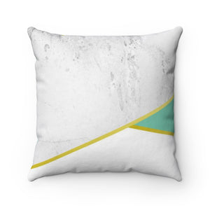 Mint & Marble Spun Polyester Square Pillow