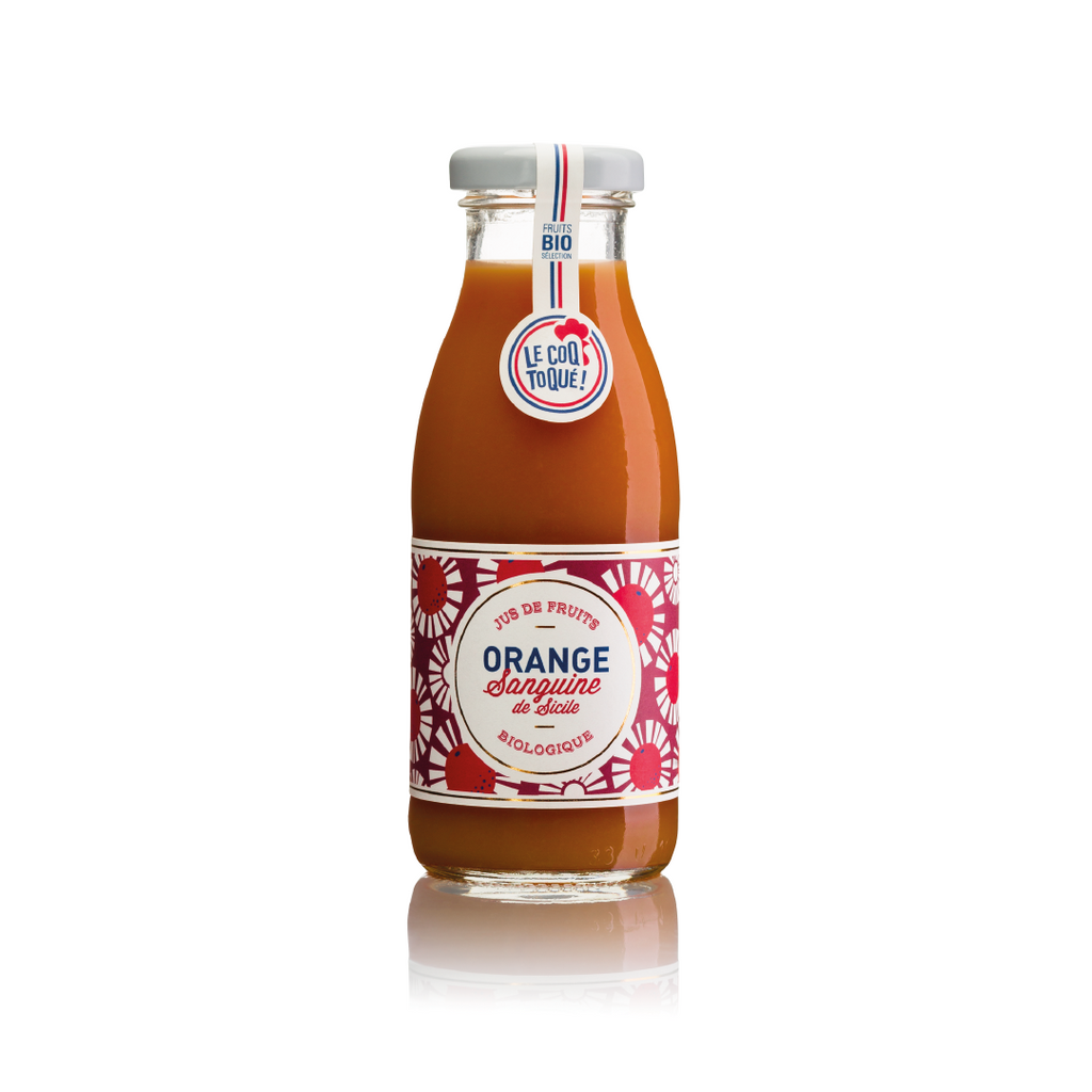 Jus d'orange sanguine bio - 20 bouteilles 25 cl