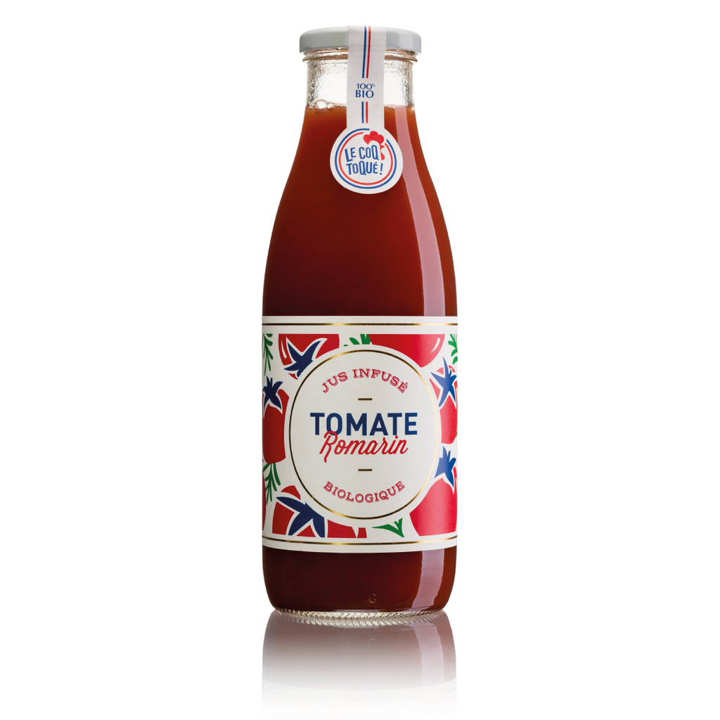 Jus tomate-infusion romarin bio - 9 bouteilles 75cl