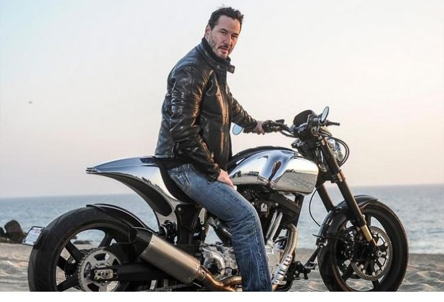 Inside ARCH Motorcycle, a Custom Shop Run by Keanu Reeves
