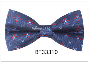 Fashion Paisley Bow Tie For Men Women Classic Floral Bowtie For Party Wedding Bowknot Adult Mens Bowties Cravats Red Tie