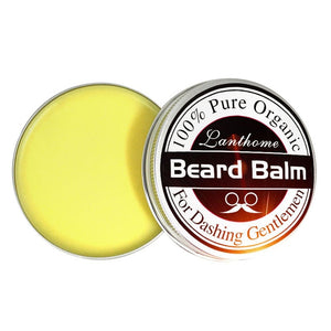 Professional Natural Organic Beard Oil Balm Moustache Wax Beard Growth Caring Smooth Styling Universal For Styling Salon TSLM2