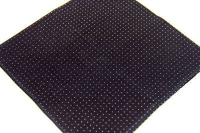 Man  handkerchief pocketsquare cotton 100% /classicism wave printed 40cm/Many Uses