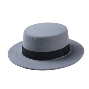 Oval Top Bowler Hat