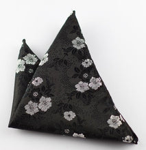Classic Retro Floral Pattern Pocket Square