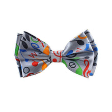 Music Pattern Bow Tie