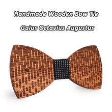 High Quality Handmade Wooden Bowtie