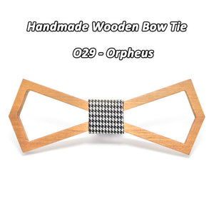 New Design Business Wooden Bowtie