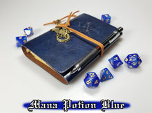 Load image into Gallery viewer, D&D Journal w/ Dragon Charm, Refillable