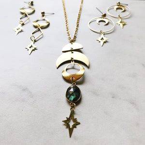 Neptune Lariat Necklace