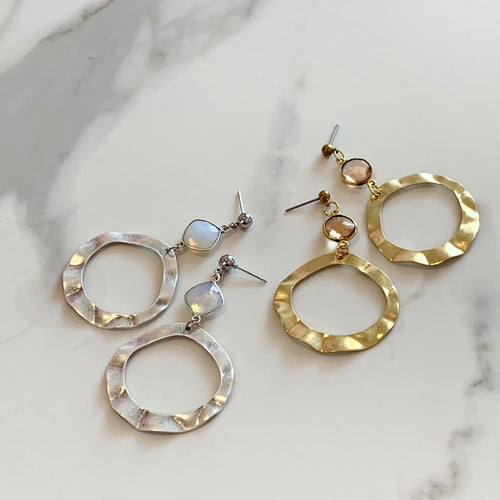 CIRA EARRINGS - SILVER