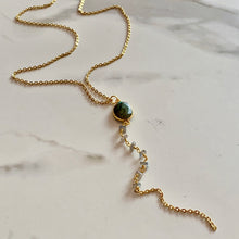 Load image into Gallery viewer, ARIELLE LARIAT NECKLACE