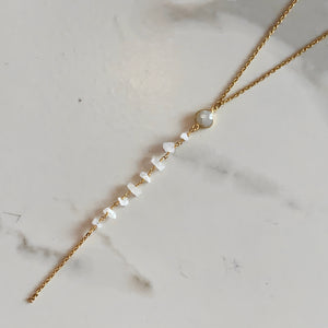 ARIELLE LARIAT NECKLACE