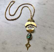 Load image into Gallery viewer, Neptune Lariat Necklace