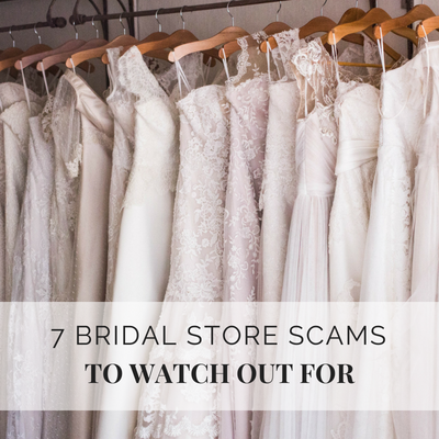 7 Biggest Bridal Store Scams To Watch Out For Wedding
