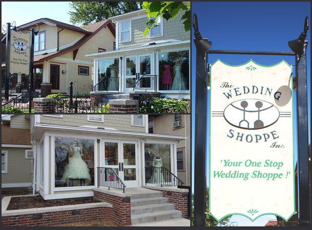 The Wedding Shoppe & Wedding Shoppe Inc., your local Minnesota Bridal Store & USA Online Bridal Store