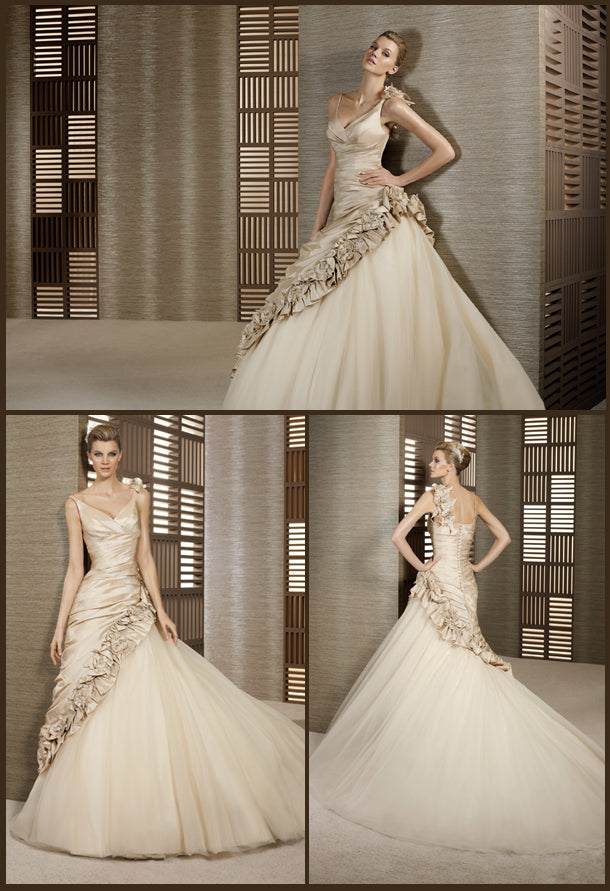 White One Bridal Gown Talud