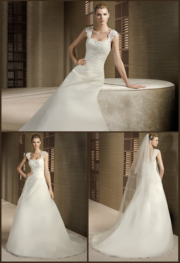 White One Bridal Gown Terma