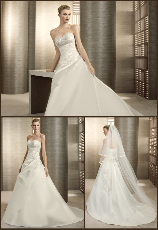White One Bridal Gown Tierra